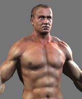 lowpoly bodybuilder
