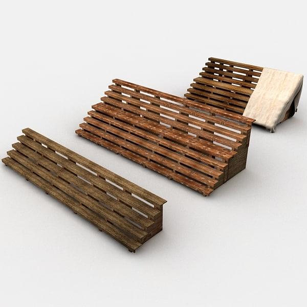 tribune wood 3d 3ds