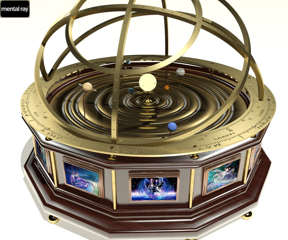 max grand orrery planet