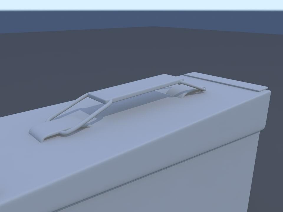 3d model ammo