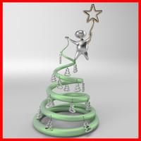 concept christmas tree fbx