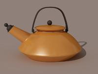 3dsmax realistic teapot