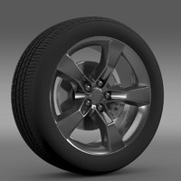 chevrolet camaro 2010 wheel 3d max