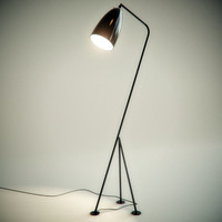 3d grasshopper floor lamp