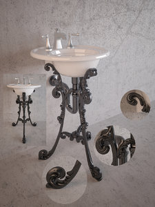 3d model classical kohler