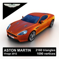 Aston Martin Virage 2012