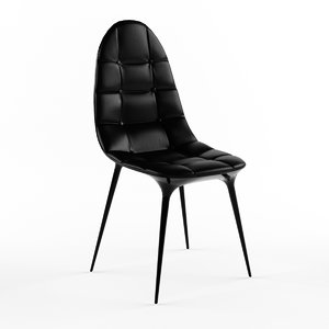 3d 3ds chair caprice cassina