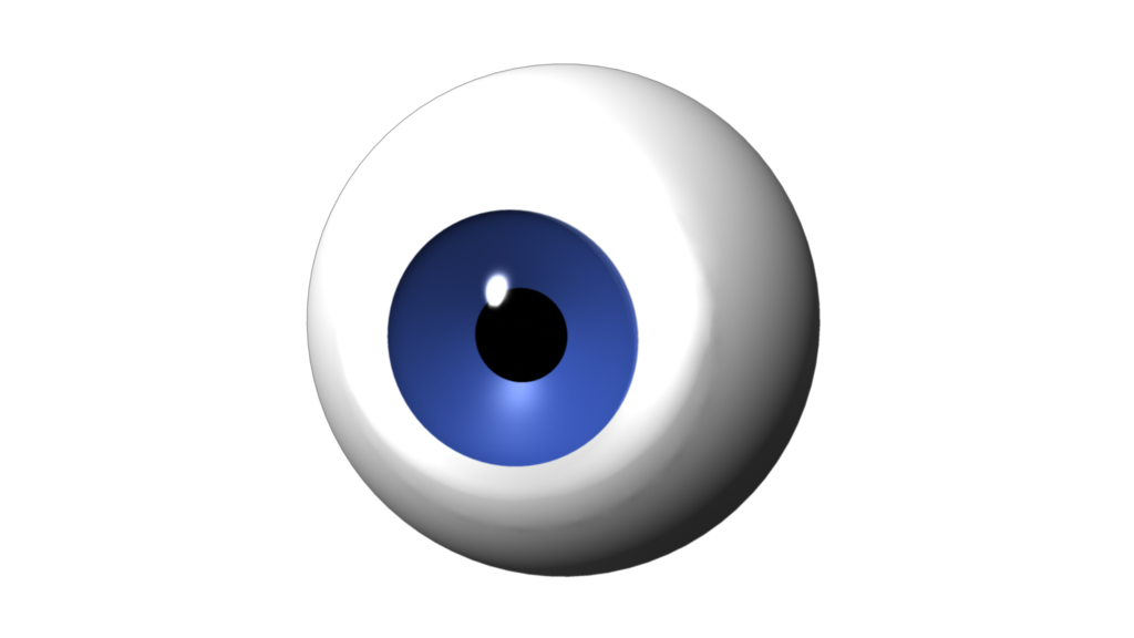 maya character eye