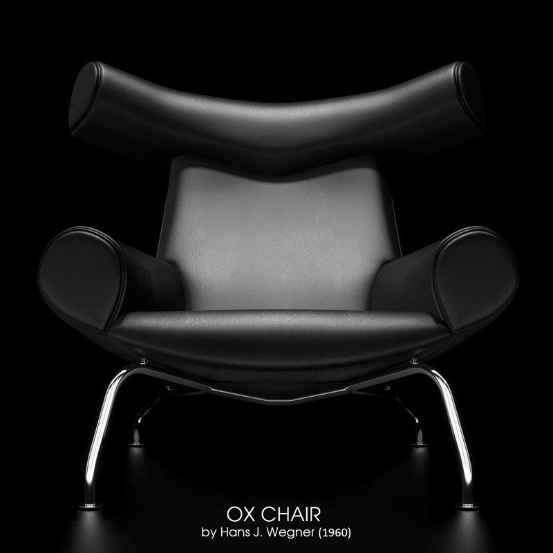 3d ej100 ox chair