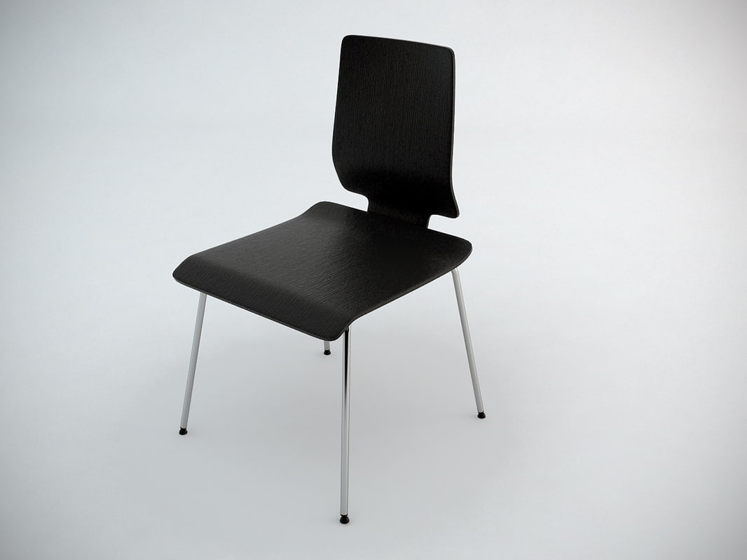 Ikea Gilbert Chair 3d Obj