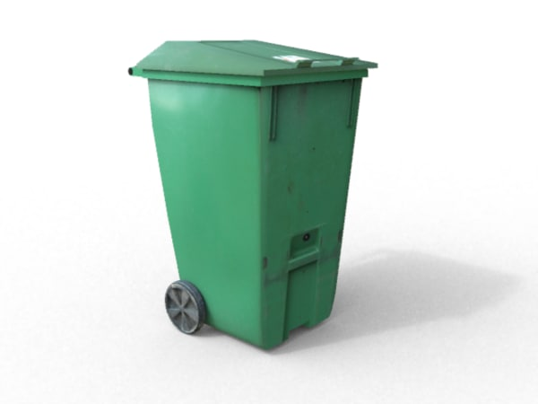 maya garbage plastic urban