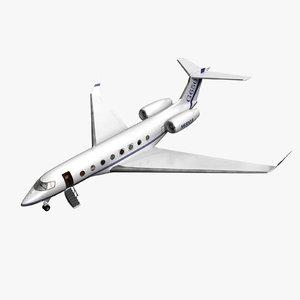 3d model gulfstream g650 aircraft