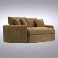 crate barrel - lounge 3d model