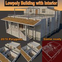 Lowpoly Building Lpwin1