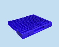 3d industrial pallet