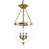 Pendant Lantern glass celining hall chandelier