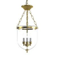 Pendant Lantern glass celining hall chandelier