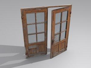door open 3d max