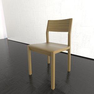 sciza chair 3d model