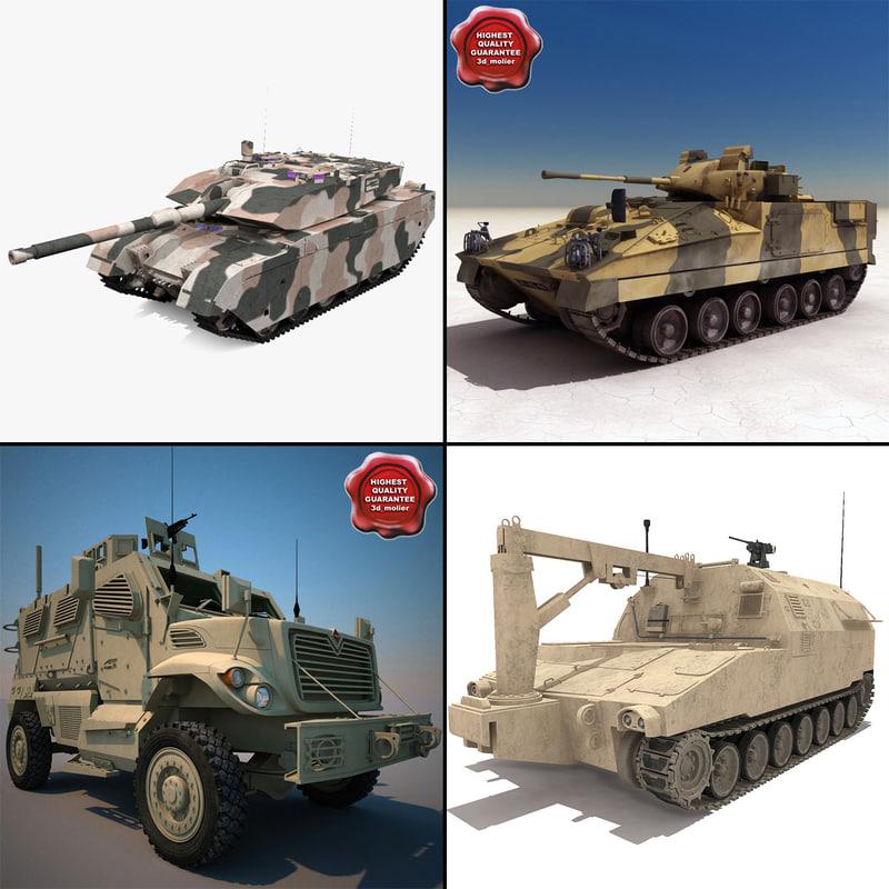 tanks v6 3d model