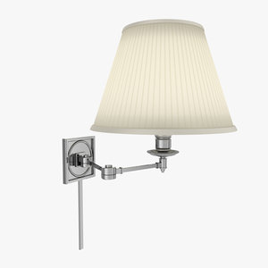 visual comfort sconce 3d max
