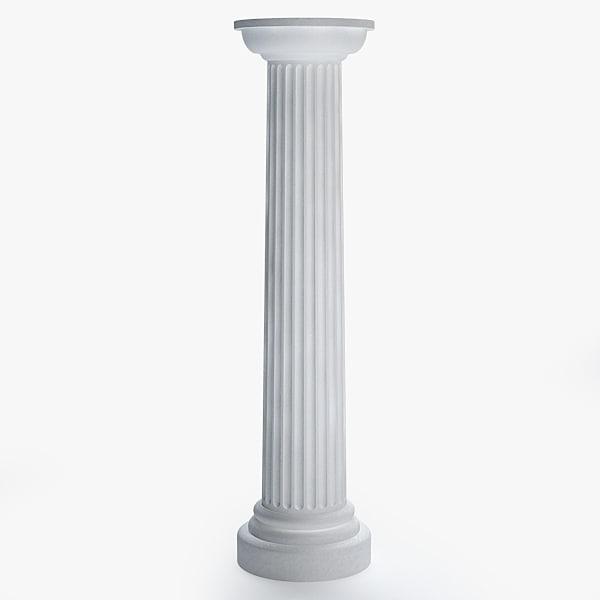 column 3d max