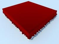 3d model skirt bed