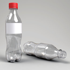 3d coke bottle