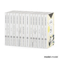 nabokov series books set 3d model