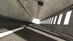 hq tunnel render stage obj