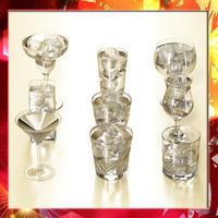 Glassware Collection - 9 Glasses.