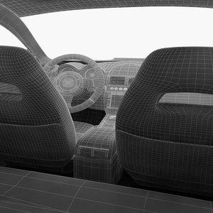 3d max xf car