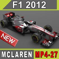 2012 mclaren mp4-27 max