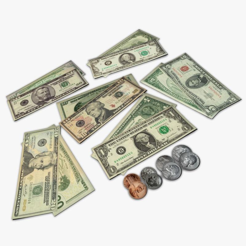3d money model