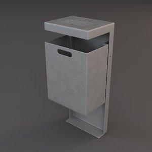 3d garbage model