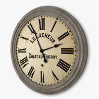 Chateau Thierry Clock