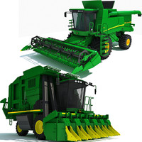 Combines Collection - John Deere