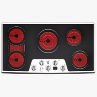 Wide Electric Cooktop