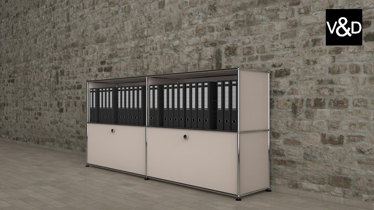 usm modular furnitures 3d model