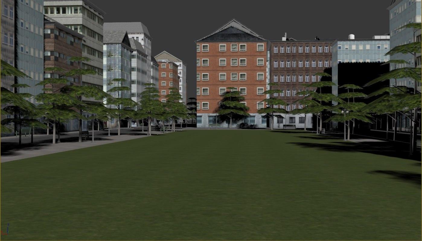 definition buildings 3d 3ds