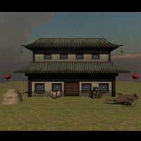Chinese House Set