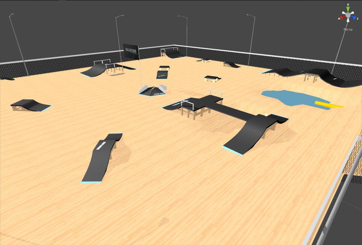 skatepark park 3d max