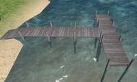 2 docks 3ds