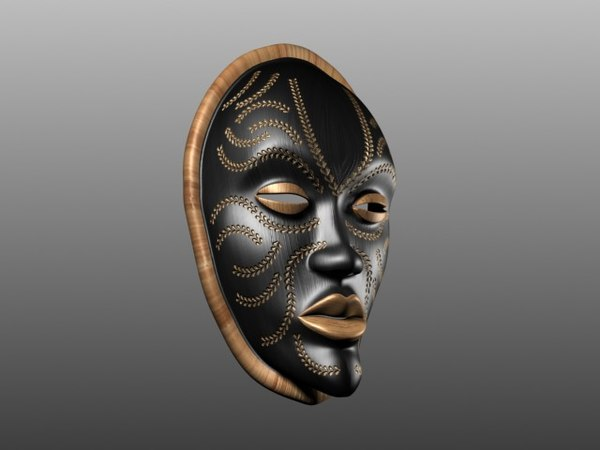 african mask max