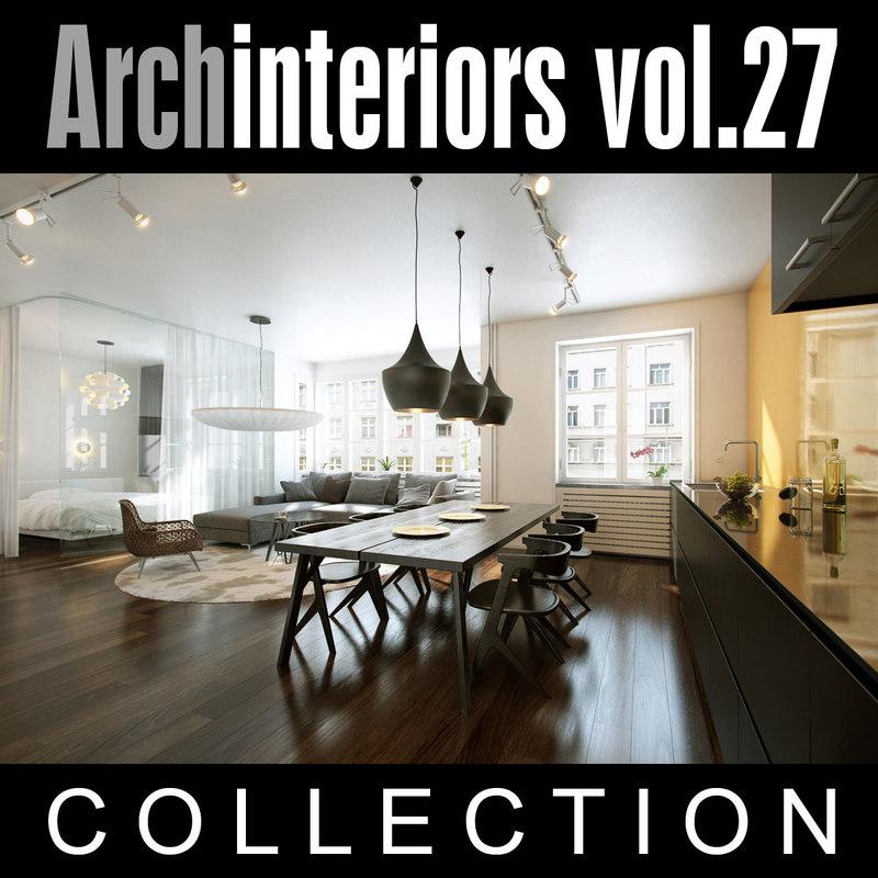 3ds max archinteriors vol 27 interior scenes - 3d max models free download exterior ...