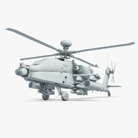 Apache Helicopter No Materials