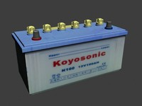car battery 12 v 3d obj