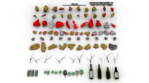 3dsmax vfx debris collections