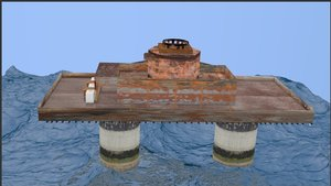 free maunsell forts 3d model