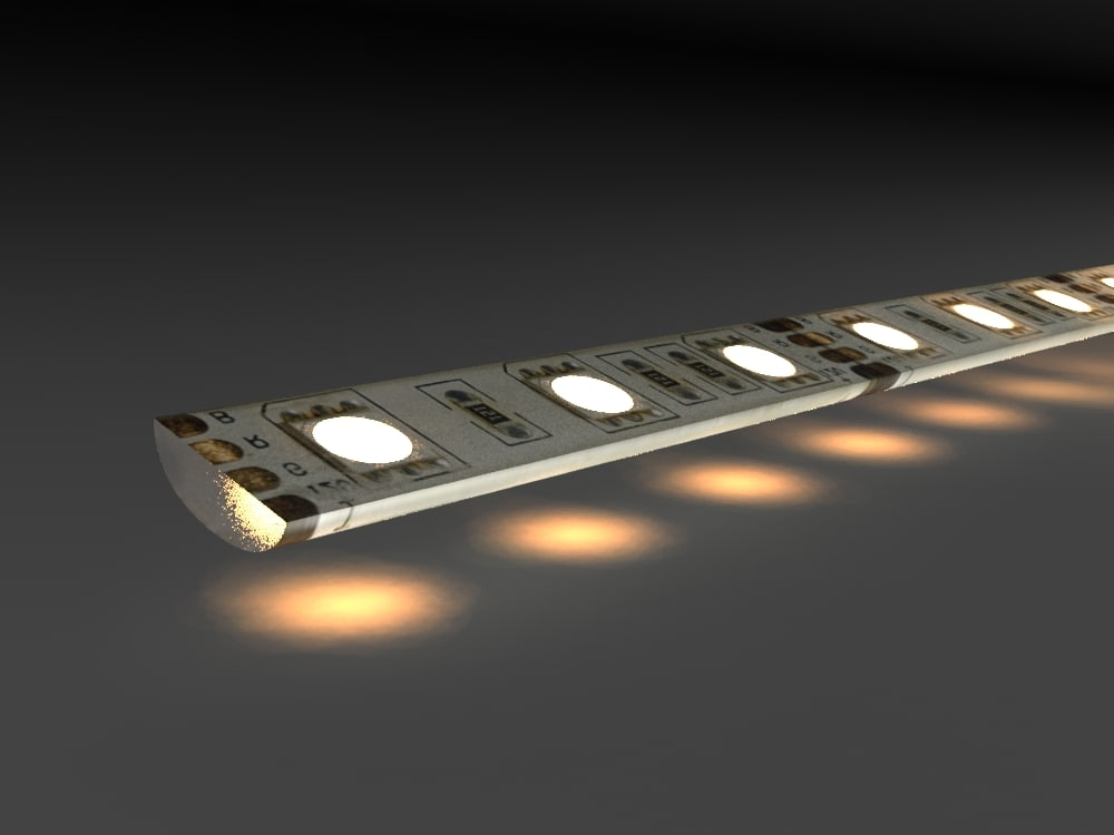 led strip 3d max